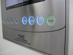 TVC-XL control panel